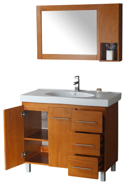 Legion Furniture 40  Bathroom Vanity  Maple Finish   WA3129 contemporary  bathroom vanities. Legion Furniture 40  Bathroom Vanity  Maple Finish   WA3129