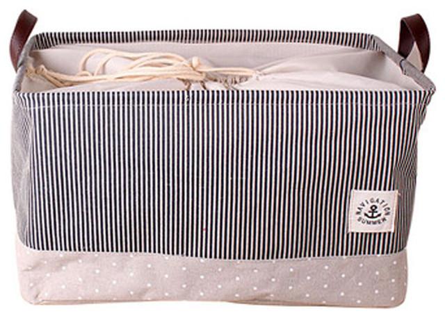 Foldable, Laundry, Storage Basket Practical Hamperbasket, D.
