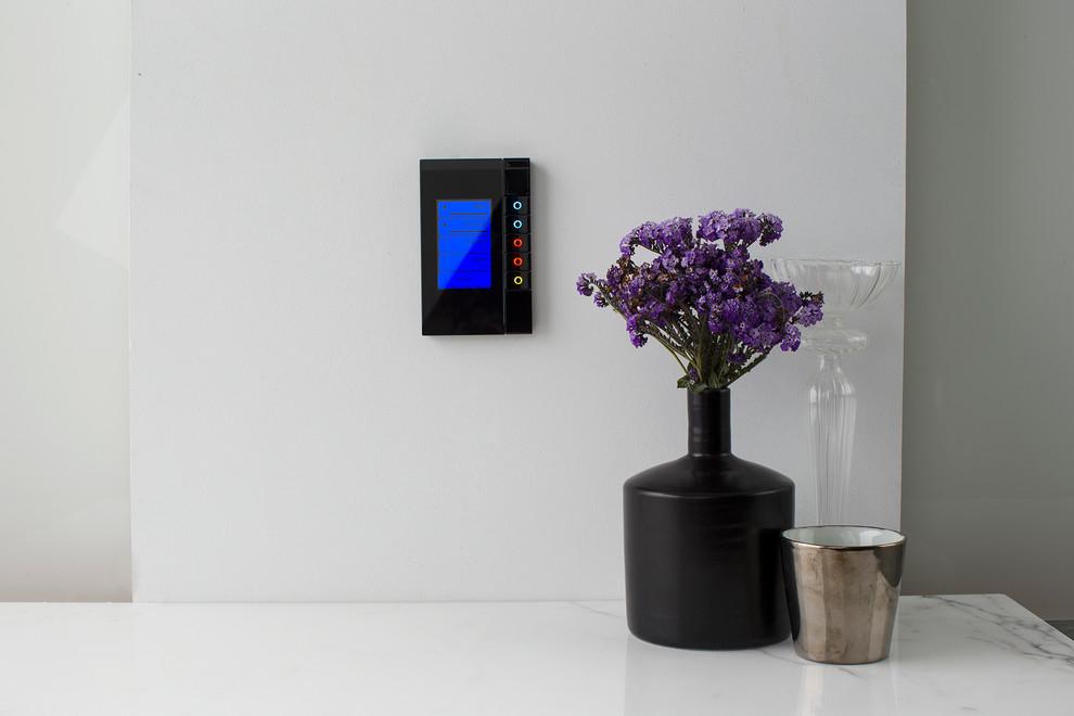 Inspiration for a modern home design remodel in Sydney