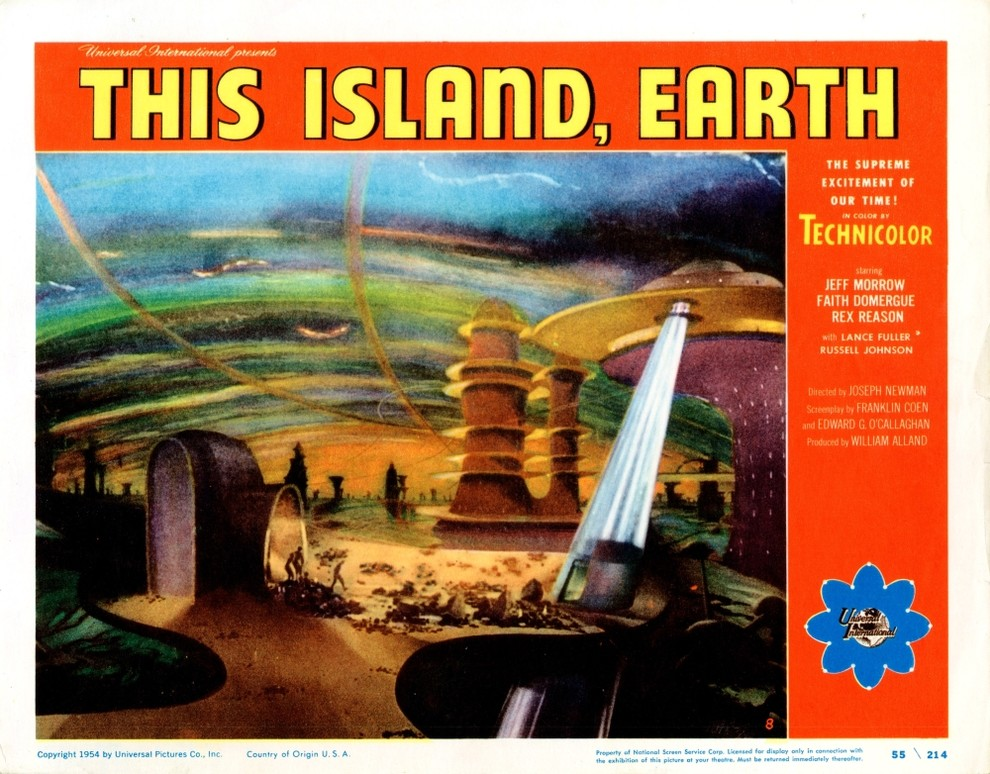 This Island Earth Print 14 x 11/""