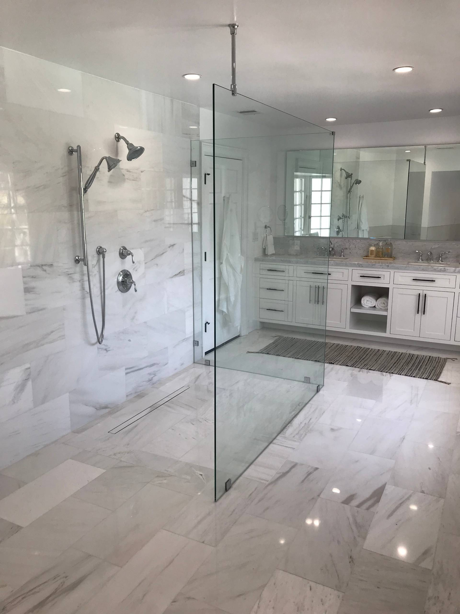 Marble Inspired Bathrooms