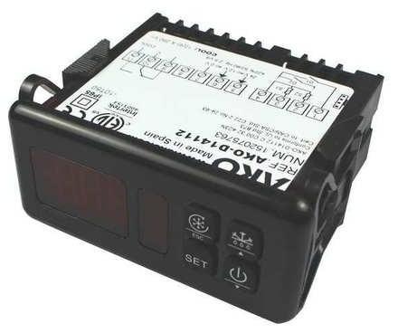 AKO-D14112 Universal Digital Thermostat For Refrigeration Systems 12/24v