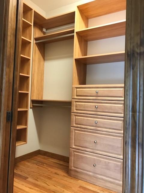 Honey Apple Finish, Master Closet- Maggie Valley, NC