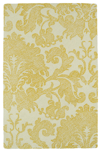 Kaleen Hand Tufted Montage Collection Rug, 5&x27;x7&x27;9.
