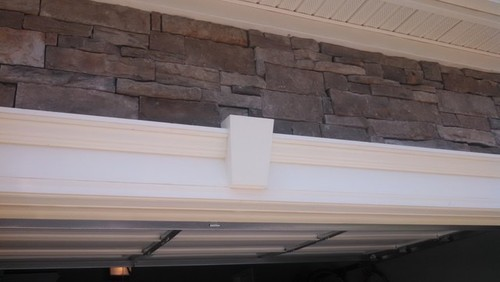 Incroyable Remove Decorative Keystone For Garage Pergola