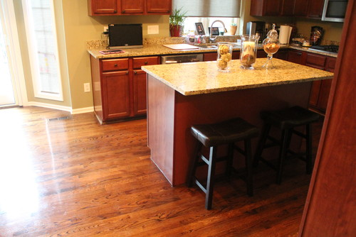 Kitchen Island Upgrade And Garbage Can Disguise.
