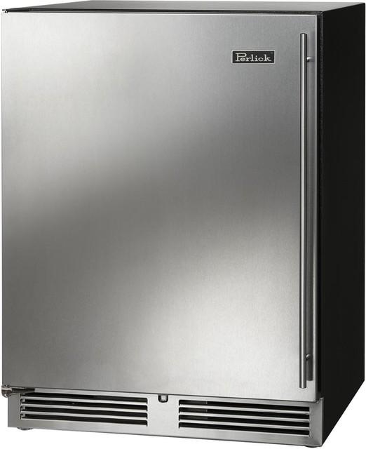 Perlick C Series 24 Built In Counter Depth Compact Refrigerator, Left Hinge.