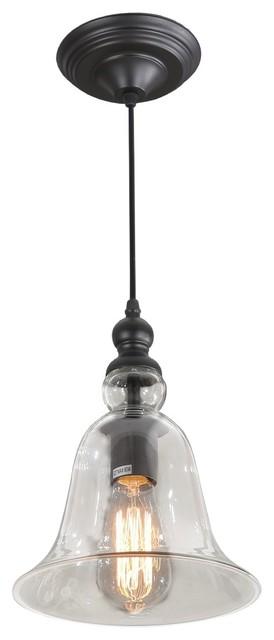 Rustic Glass Bell Shape Mini Pendant Lights.