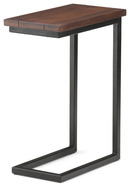 Skyler C Side Table Industrial Side Tables And End Tables