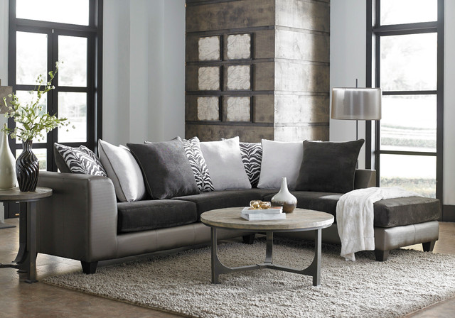 American Freight Furniture And Mattress · Furniture U0026 Accessories. Shimmer  Magnetite 2 Piece Sectional Modern Living Room