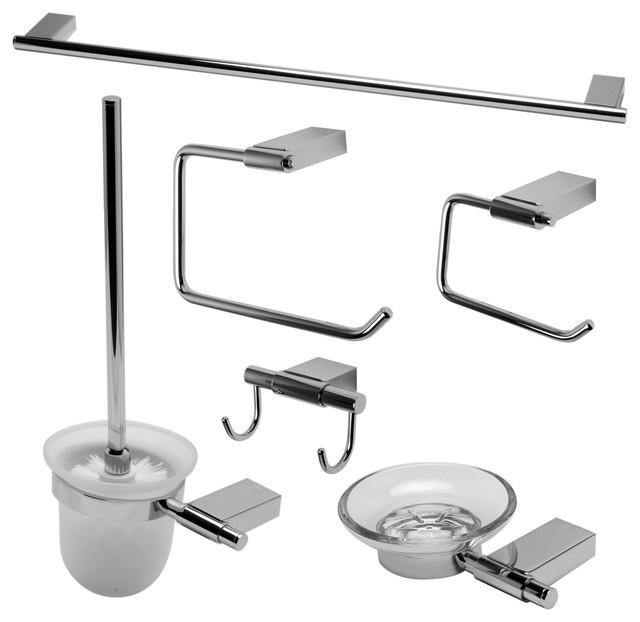 ALFI brand AB9515 6 Piece Matching Bathroom Accessory Set ...
