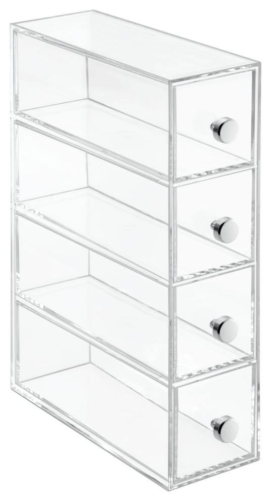 20.00x10.00x7.30 cm InterDesign Clarity Interlocking Organizador