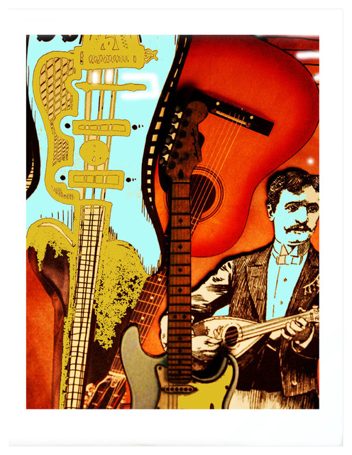 The Professional Music Themed Art Print Prints And