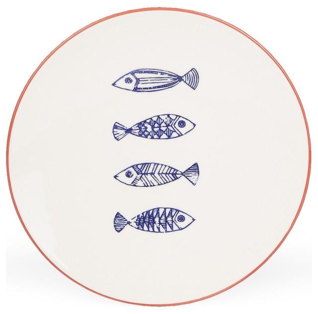 Vaisselle motif bord de mer