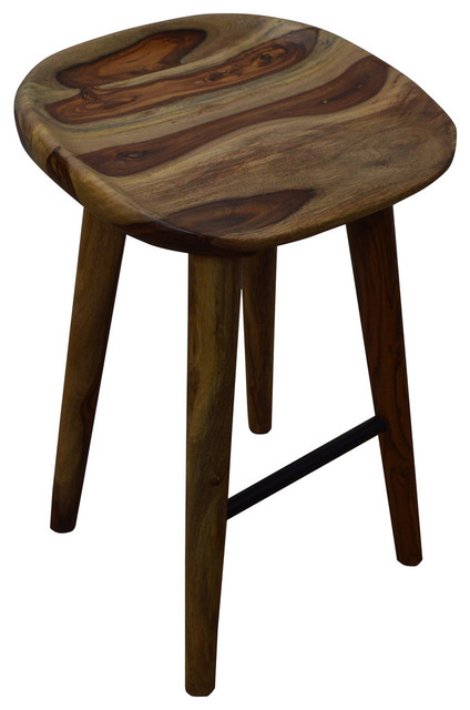 Sheesham Counter Stool Natural contemporary-bar-stools-and-counter-stools  sc 1 st  Houzz & Solid Sheesham Wood Counter Stool - Contemporary - Bar Stools And ... islam-shia.org