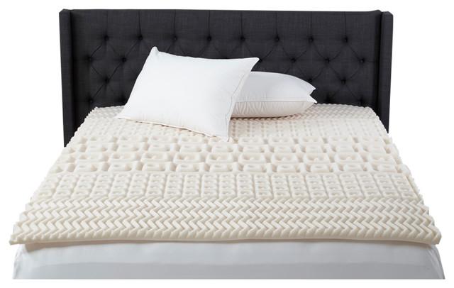 Beautyrest 5 Zone Contour Comfort Foam Topper