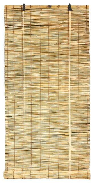 Reed Blind Natural Design, 24x72.