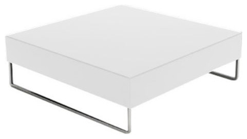 Park Square Large Coffee Table White