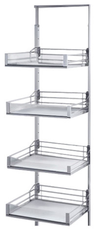 Vsa Pantry Frame, 47-1/4 - 57-1/8, Chrome.