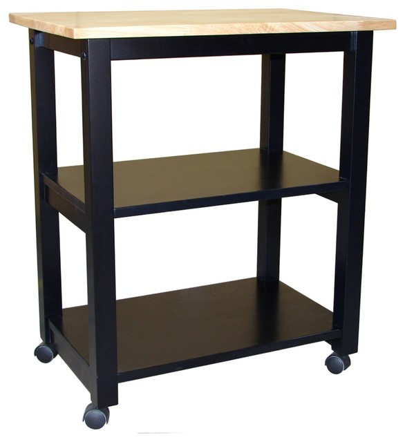 International Concepts   Microwave Cart, Cinnamon And Espresso   Kitchen  Islands And Kitchen Carts