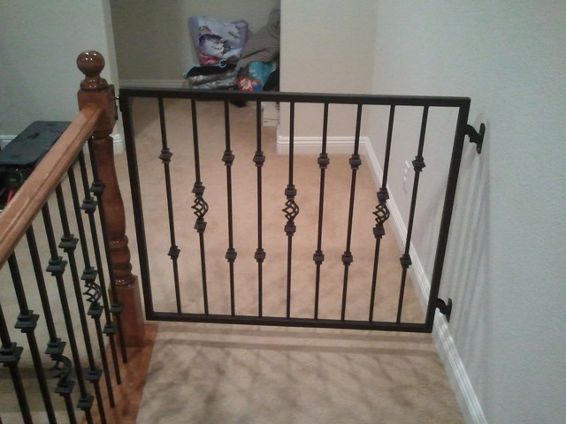 Nice Baby Gates Traditional Staircase