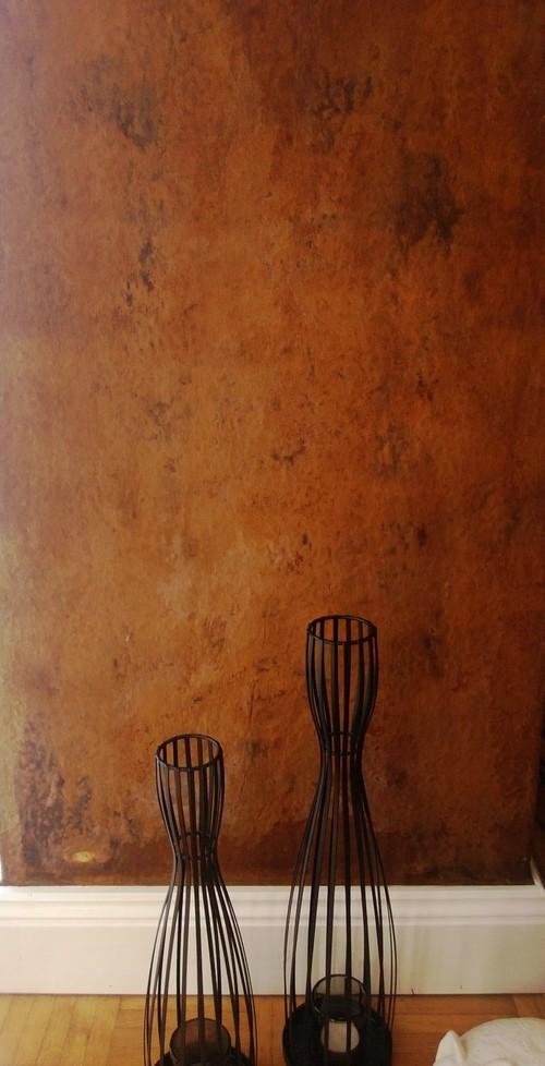 rostoptik wand. Black Bedroom Furniture Sets. Home Design Ideas