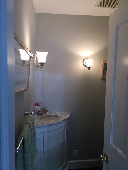 Powder Room Mirror And Lighting Help