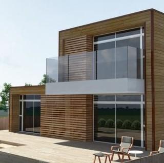 Casas de madera caba as de madera refugios de madera casas prefabricadas viviendas de madera - Refugios de madera prefabricados ...