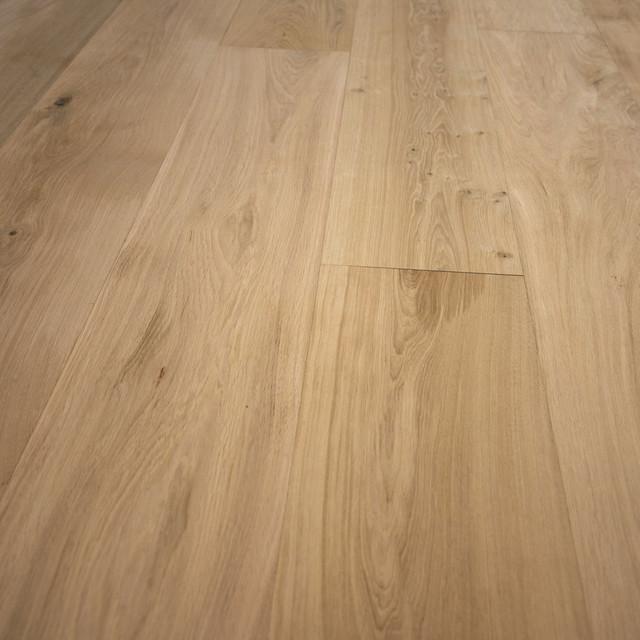 French Oak Unfinished Engineered Wood Floor Se Wide Plank Sample