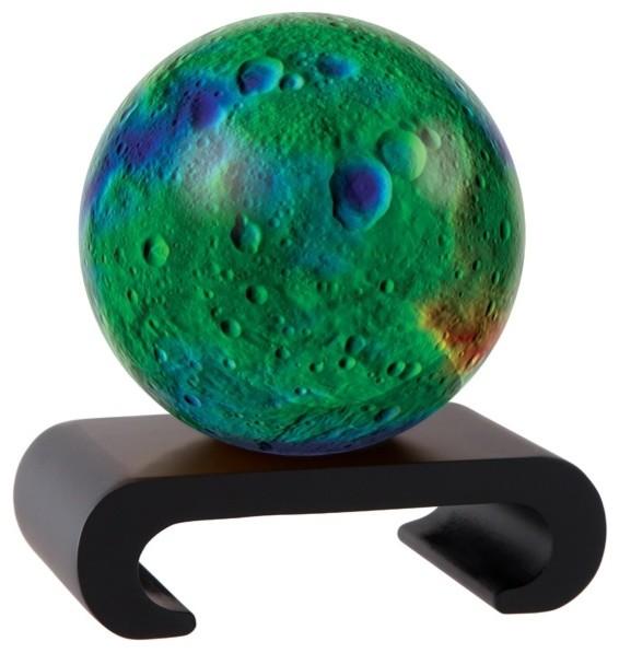 mova vesta revolving globe 4 5 transitional world globes by