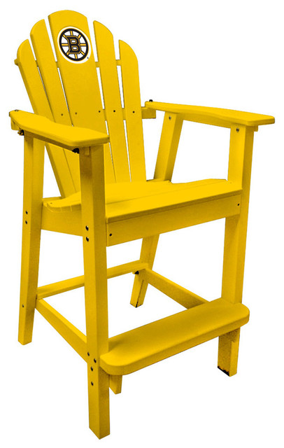 Boston Bruins Red Captains Pub Chair Traditional