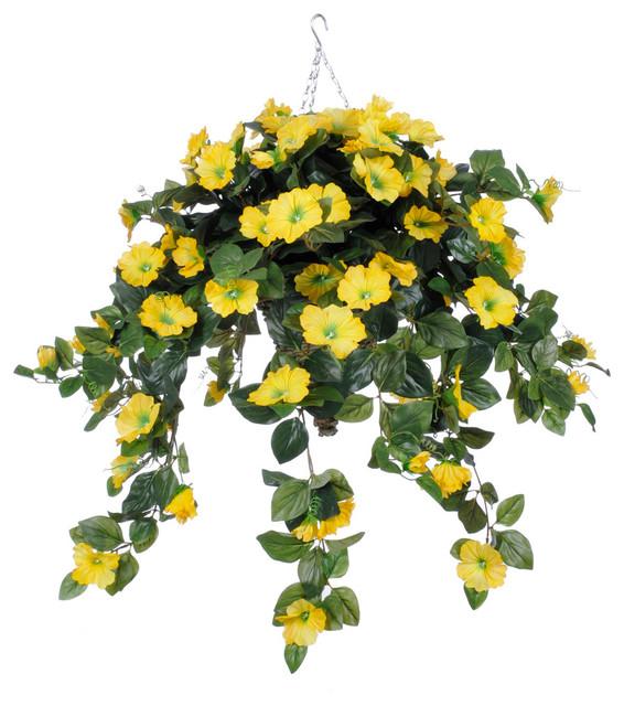Silk Flower Hanging Basket Plants The Best Flowers Ideas