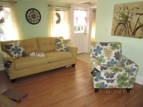 Need Help Matching This Goldenrod Sofa