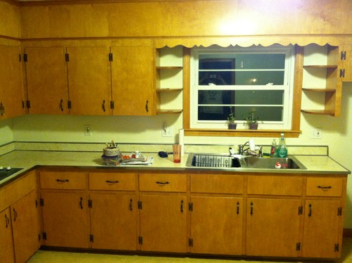 1950S Kitchen Cabinets Glamorous Before & After 1950's Kitchen Remodel On A $15K Budget Inspiration Design