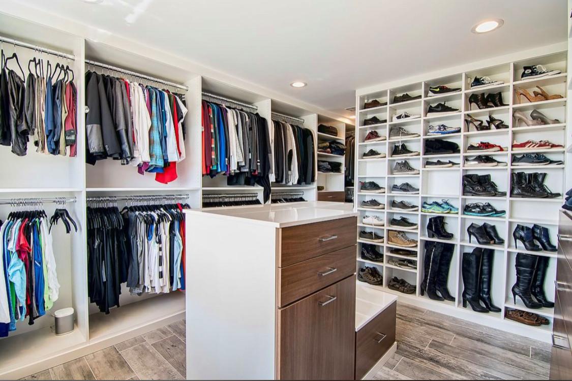 Closet room remodel in Calabasas