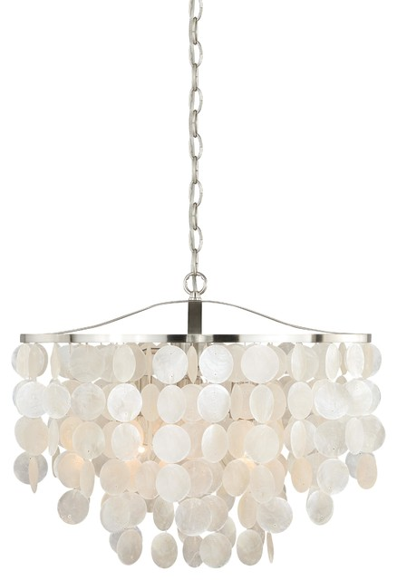 Celeste Shell Pendant Light.