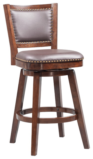 Broadmoor Swivel Stool Transitional Bar Stools And
