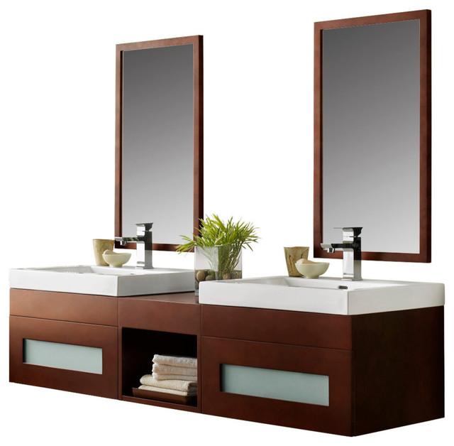 100 wall mount vanities for bathrooms