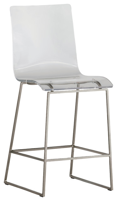 Gabby King Acrylic Counter Stool Silver contemporary-bar-stools-and-counter  sc 1 st  Houzz & Gabby King Acrylic Counter Stool - Contemporary - Bar Stools And ... islam-shia.org
