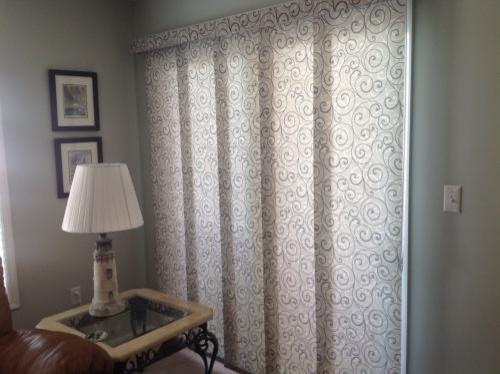 bali fabric sliding panels