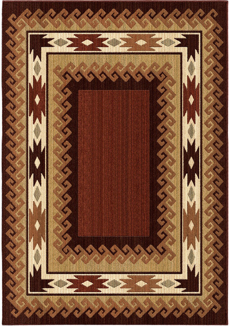 Shop Houzz Orian Rugs Orian Rugs Unique Designs Lodge