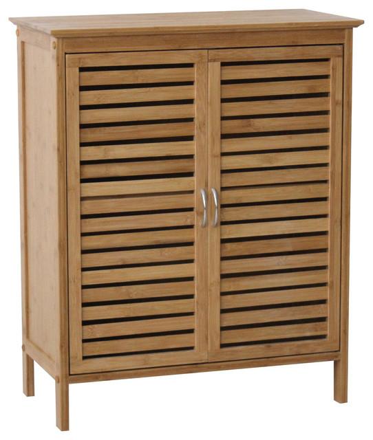 Natural Spa Floor Cabinet, Natural.