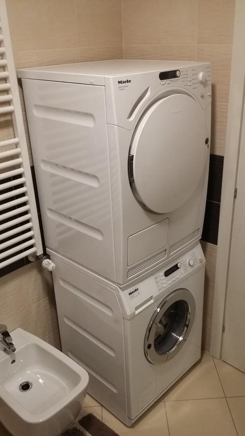 Lavatrice e asciugatrice da nascondere - Mobile per lavatrice e asciugatrice ...