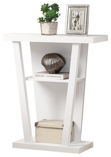 Accent Table, White Hall Console