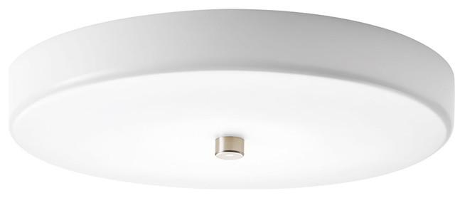 Portfolio 3 Light 22 In Brushed Nickel Bowl Vanity Light: Progress Lighting Beyond Led Flush Mount Ceiling Fixture