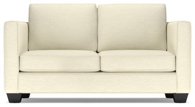 catalina apartment size sofa cream contemporary sofas by apt2b