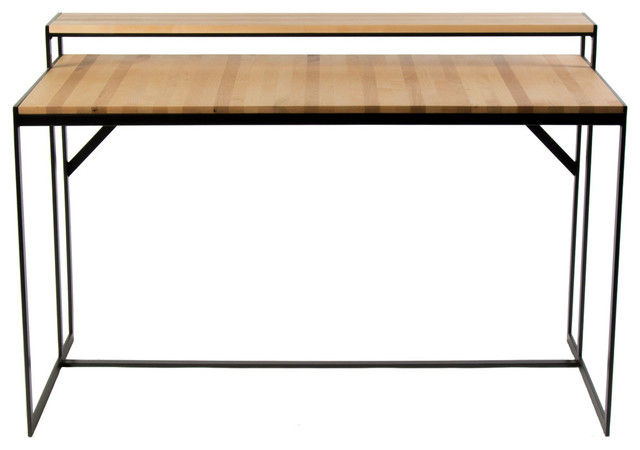 Ansted Desk, Flat Iron, Maple.