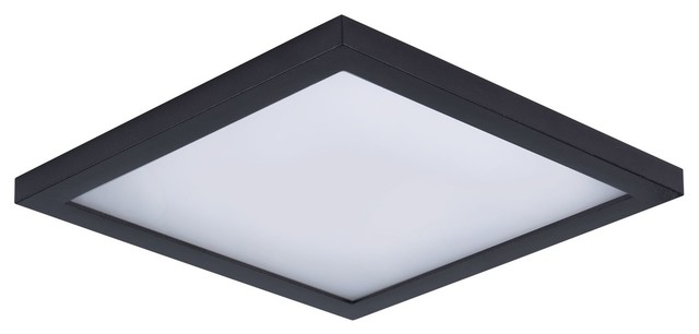 Wafer Led Wall/flush Mount, Bronze.