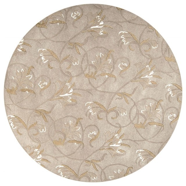 Contemporary Goa Area Rug Transitional Area Rugs By
