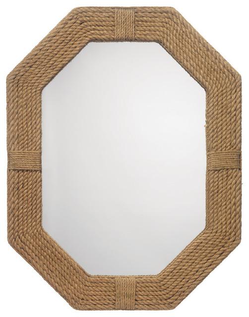 Lanyard Mirror, Jute.